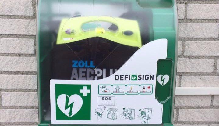 AED bij Duikcentrum de Grevelingen