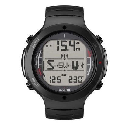 D6i All Black Steel – Suunto