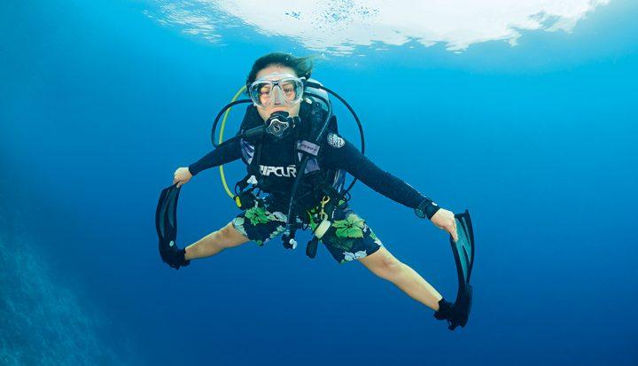 Maakt duiken slank?
