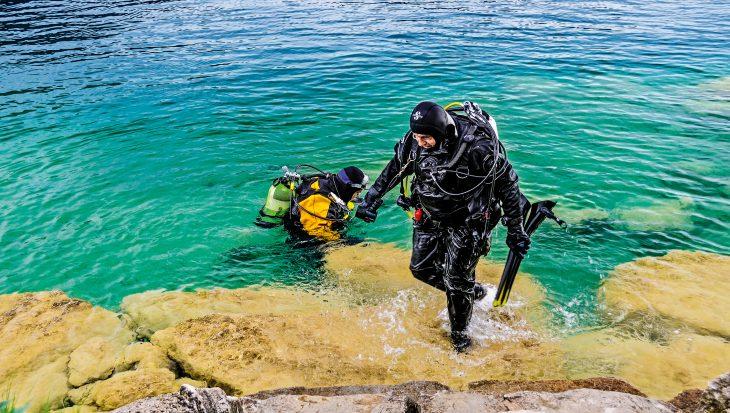 Hoe fit moet je zijn om te duiken?