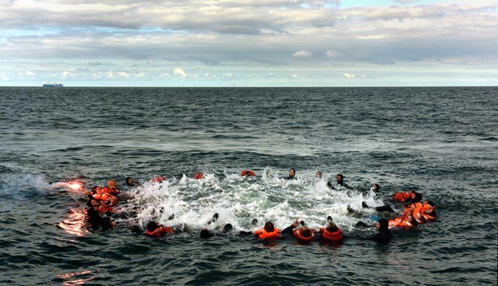 Noordzee training op zondag 17 september