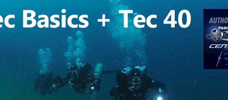 NEW PADI Tec Basics bij Diveplace