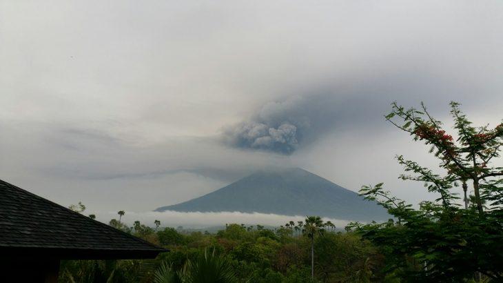 Bali en de actieve vulkaan Agung