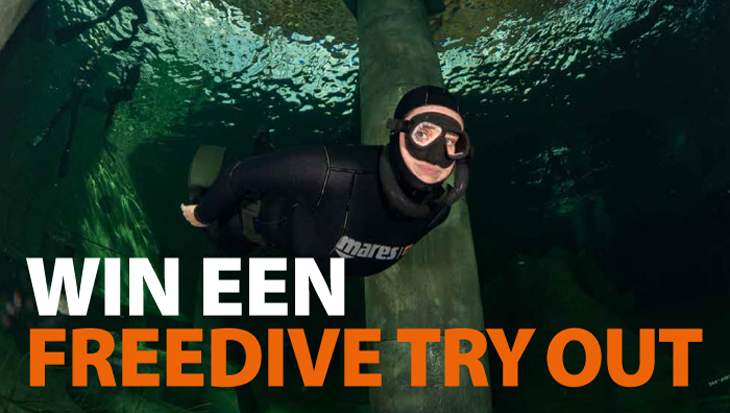 Doe mee & win Freedive Try Out