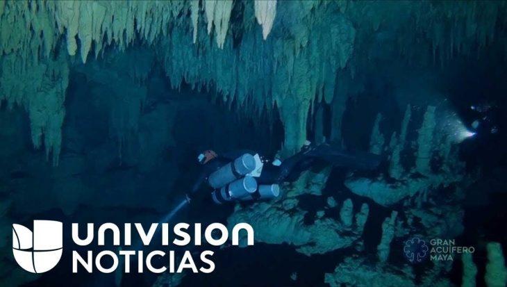 De langste onderwatergrot ter wereld ontdekt in Mexico