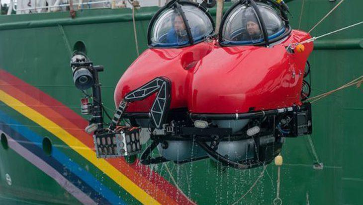 Zeldzame beelden van met leven bezaaide bodem Zuidpoolzee vastgelegd door Greenpeace onderzeeër