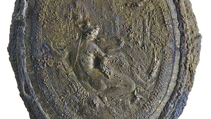 Chique poederdoos aan boord zeventiende-eeuws scheepswrak