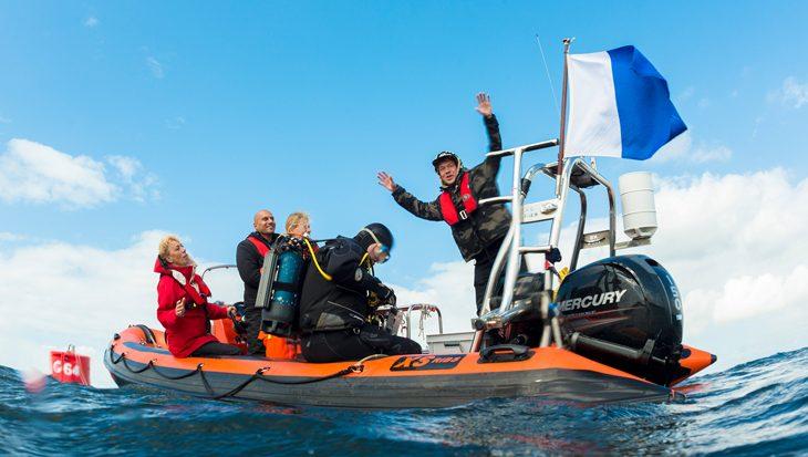 Aandacht voor duiken in TV-programma Het Klokhuis
