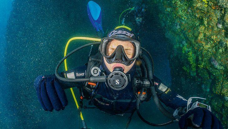 Neusbijholten, welke holten reageren op drukverschillen tijdens het duiken