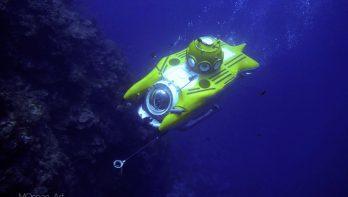 De diepte in met een onderzeeboot op Roatan