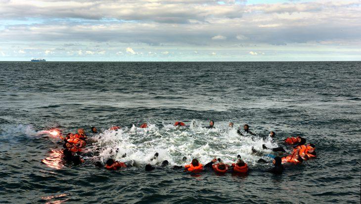Overleven op zee, Noordzeetraining