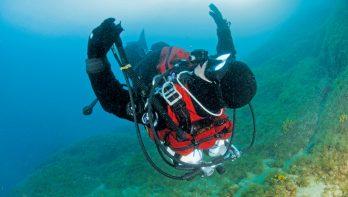 Decompressie-ongeval na een gewone duik