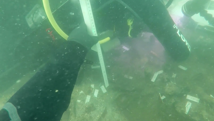 Archeologen ontdekken 7000 jaar oude indianenbegraafplaats op de bodem van de oceaan