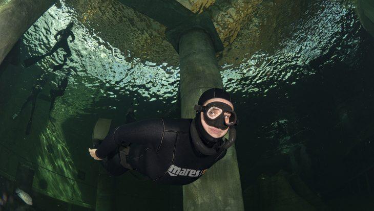 Freediving try out bij indoor duikcentrum TODI
