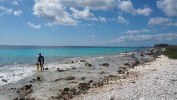 Een Drive - or dive - Thru op Bonaire