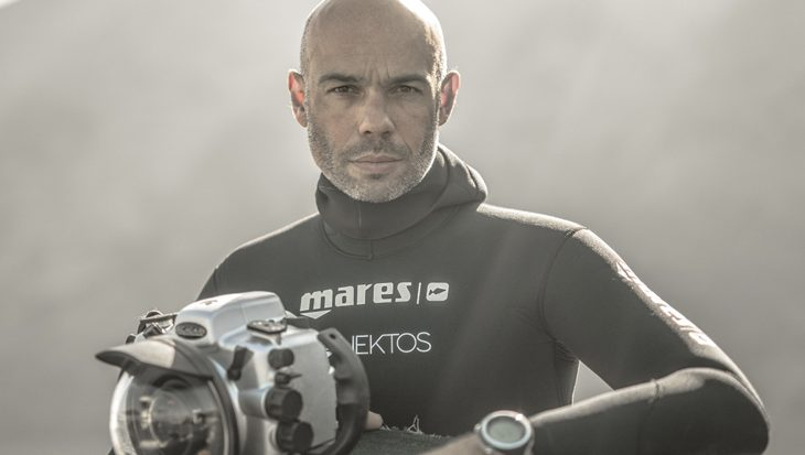 Interview met freediver Frédéric Buyle