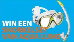 snorkelset van Aqua Lung