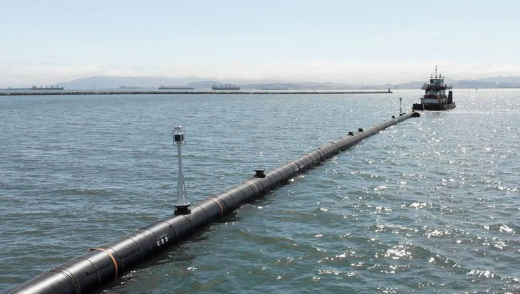 Ocean Clean Up wordt nu echt werkelijkheid
