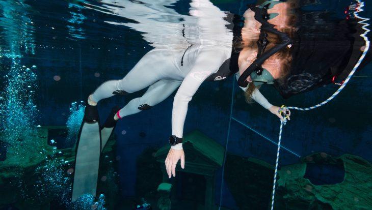 Freediven met de Garmin Descent Mk1