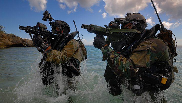 Kikvorsman-insigne voor sabotage piratenschepen