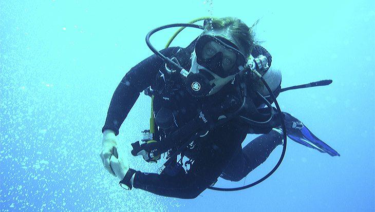 Van ijverige duikinstructeur naar scootmobiel op Duikvaker