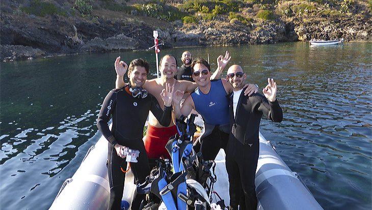Mijn duikavontuur in Ustica