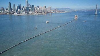 The Ocean Cleanup stuit op een probleem