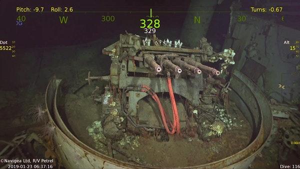 WW2 vliegdekschip USS Hornet na 76 jaar gevonden op bodem van Stille Oceaan