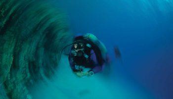 duizelig onder water