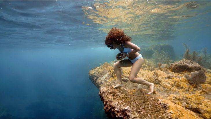 Sofia rocks, rennen over de oceaanbodem