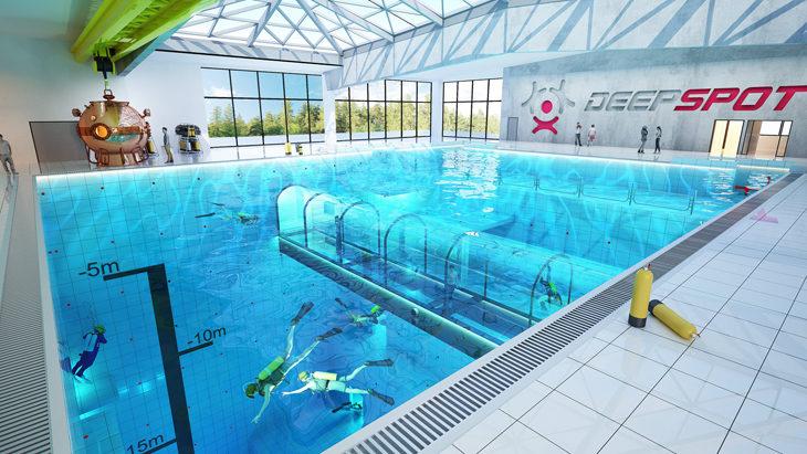 Deepspot: Diepste zwembad ter wereld