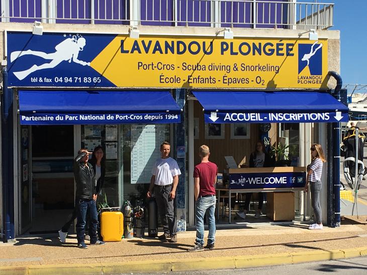 duikcentrum Lavandou Plongee
