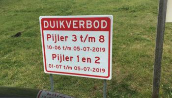 duikverbod Zeelandbrug
