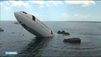 Afgezonken vliegtuig nieuwste duikattractie in Turkije