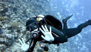 vrouwen en duiken