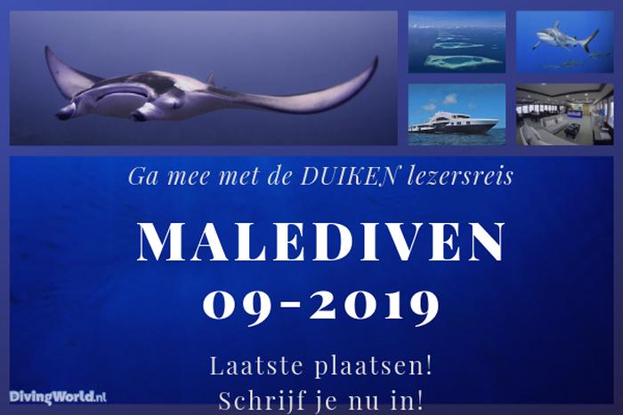 Malediven duiken lezersreis 2019