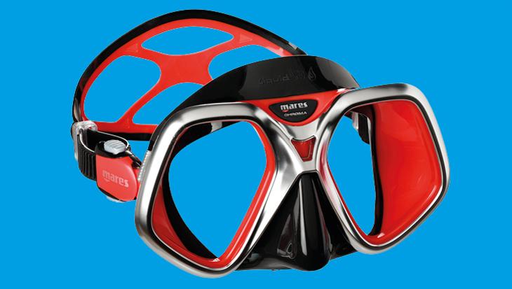 Mares Chroma Liquidskin masker, heel veel zicht