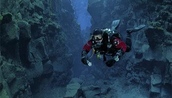 plassen onder water