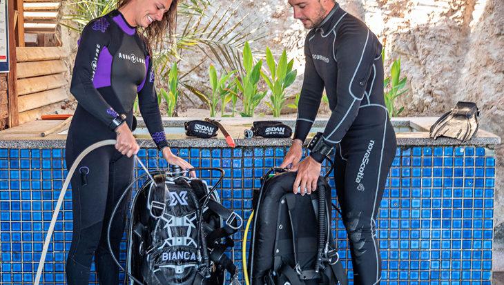 Onderhoud: duikuitrusting spoelen en schoonmaken