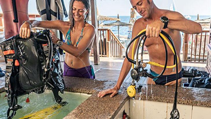Drogen en opbergen van je duikuitrusting