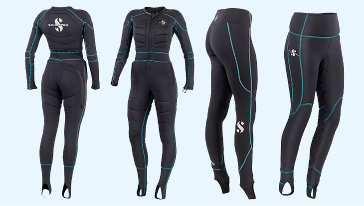 K2 onderkleding Scubapro