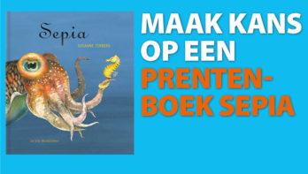 Win! Prentenboek Inktvisje Sepia
