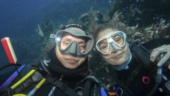 Onderwaterbergen, waarom klimmen als je kan afdalen