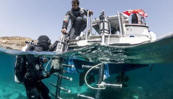 fitnessprogramma voor duikers