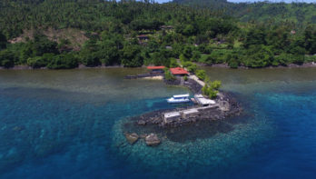 Duikresort LumbaLumba Diving op Manado