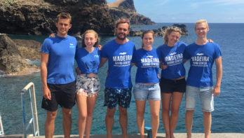 Madeira Diving Center, aan de zuidkust van Madeira