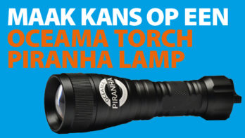 Win! Oceana Torch Piranha Lamp