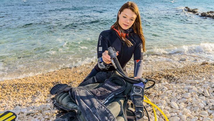 Start van het duikseizoen, een opfriscursus