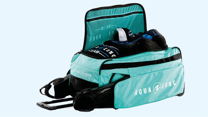 Aqua Lung Explorer II Roller: Let's go!