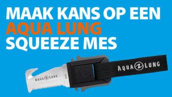 Win! Een Aqua Lung Squeeze mes